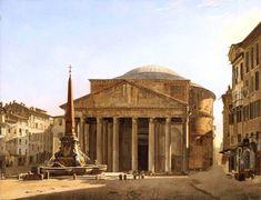 François Vervloet – Robilant+Voena. The Pantheon (c. 1820s-1870s)   elsewhere