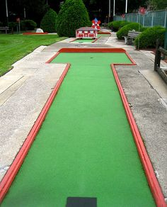 Miniature Golf - my level of exertion!