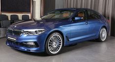The B5 Is The Fastest Accelerating Alpina Ever And It's On Display In Abu Dhabi