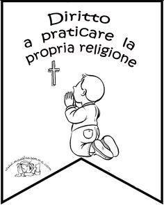 www.maestragemma.com Bandierine_giornata_dei_diritti.htm Dads, School, Montessori, Winter Time, November, Fathers, Schools, Daddy, Father