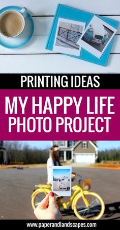 My Happy Life Photo Project: Printing Ideas - Have you started our photo project already? Are you ready to print your photos? Here are some tips! - Paper and Landscapes
