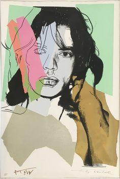 Andy Warhol, Mick Jagger, II.140, 1975, Upsilon Gallery