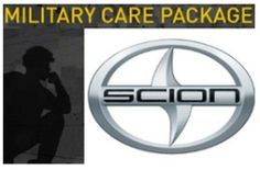 FREE Care Package From Scion for Military Personnel on http://hunt4freebies.com
