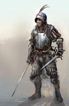 ArtStation - soldier character, Piotr Chrzanowski