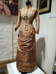 """Victorian Era Fashion by Tania Ho, via Flickr"" Undated outfit. Museum of Decorative Arts, Riga (part of Alexandre Vassiliev's collection)"