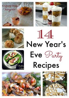 14 New Year's Eve Party Recipes
