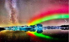 rainbow aurora ::Owner of image and link unknown::