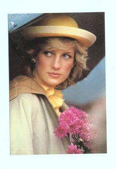 A soft photo of Princess Diana.