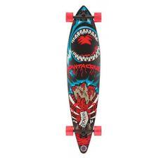 Santa Cruz Retro Shark Pintail Longboard