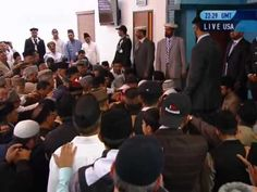 Los Angeles : Americans accept Islam Ahmadiyyat at the hands of World Muslim Leader