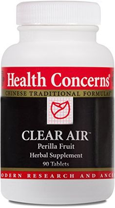 Health Concerns  Clear Air  Perilla Fruit Herbal Supplement  90 Tablets -- Details can be found by clicking on the image.