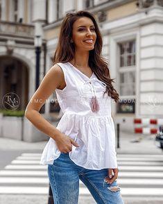 Krásna a moderná blúzka pre veľkosti S, M, Boho, Modeling, Women, Fashion, Moda, Modeling Photography, Fashion Styles, Bohemian, Models