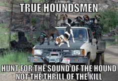 True hounds men