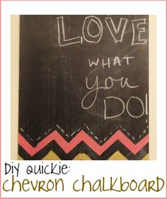 A DIY chalkboard? perhaps on an old window pane hung on the wall?