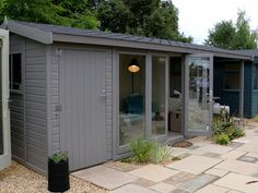 The Studio Pavilion   Studios from Malvern Garden Buildings Tongue And Groove Timber, Tongue And Groove Cladding, Felt Roof Tiles, Outdoor Retreat, Outdoor Decor, Timber Roof, Roof Colors, Cedar Shingles, Garden Makeover