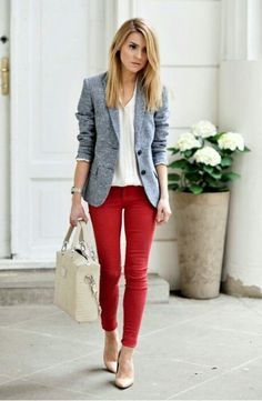 Looking for casual work outfit ideas? Here are 40 casual business outfit ideas Stylish Work Outfits, Spring Work Outfits, Work Casual, Comfortable Outfits, Winter Outfits, Women's Casual, Smart Casual, Dress Casual, Cheap Outfits