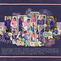 egg hunt - Scrapbook.com
