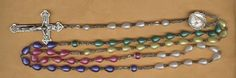 rare vintage rosary beads sterling and by beadtopiavintage on Etsy