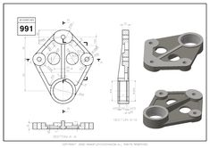 Autocad Isometric Drawing, Solidworks Tutorial, Drawing Exercises, Cad Drawing, Drawing Practice, Technical Drawing, Planer, Asdf, Drawings