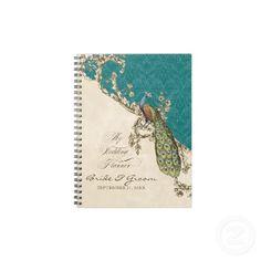 personalised brides wedding planner notebook journal cinderella inspired