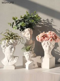 Room Ideas Bedroom, Bedroom Decor, Bedroom Themes, Greek Goddess Statue, Vase Crafts, Resin Crafts, Aesthetic Room Decor, Plant Aesthetic, Beige Aesthetic