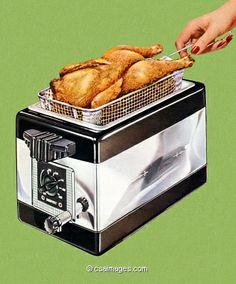 Deep Fat Chicken Fryer- csa images
