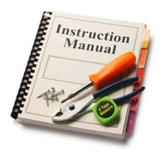 Information source for instructions