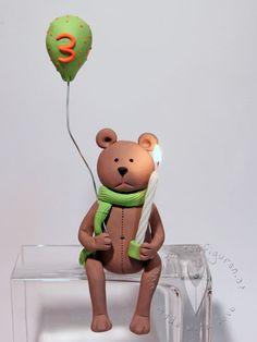 Bär Tortenfigur zum 1. Geburtstag Baby, Newborn Babies, Infant, Baby Baby, Doll, Babies, Infants, Child, Toddlers