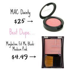 mac blush dupe
