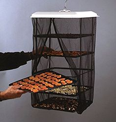 Amazon.com: Food Dehydrator Hanging Food Pantrie Dehydration System Non Electric, Environmentally Friendly, Natural Way to Dry Foods. 5 tray Dehydrator: Kitchen & Dining
