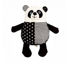 This cute monochrome panda will add a fun touch to a monochrome room! White Kids Room, Multipurpose Room, Fabric Toys, Fish Design, Online Gifts, Little Ones, Gifts For Kids, Panda, Hello Kitty