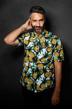 Taika Waititi photographed by Victoria Will for Sundance Film Festival