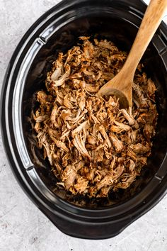 Slow Cooker Pulled Pork - Kim's Cravings