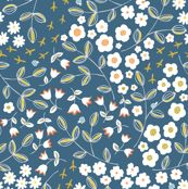 Ditsy Blue by pattysloniger, click to purchase fabric