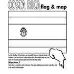 Costa Rica Coloring Page | Crayola.com Print your state or any country for FREE!