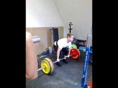 Markløft/deadlift 170 kg 5 reps Powerlifting, Body Weight, Weight Lifting, Weightlifting, Weights, Lift Heavy