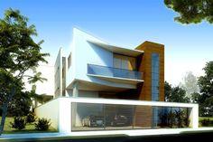 O projeto da residência A+T, desenvolvido em Belo Horizonte pelo arquiteto Zargos Vasconcelos com a colaboração de Leandro Rodrigues