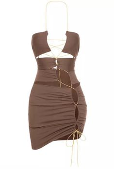 Trendy Outfits, Cool Outfits, Fashion Outfits, Velvet Two Piece Set, Cute Dresses, Short Dresses, Formal Dresses, Tie Up Dress, Look Fashion