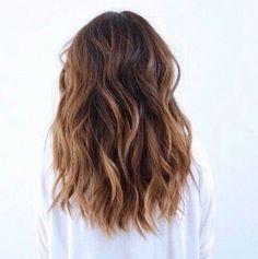 pretty medium length ombre hair