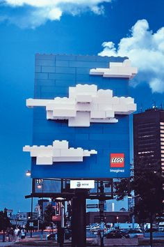 Creative Billboard Advertising Designs ( Lego never Lego ( let go ) of a good marketing idea ) ‼️ Creative Advertising, Guerrilla Advertising, Advertising Campaign, Advertising Design, Marketing And Advertising, Sports Marketing, Advertising Ideas, Marketing Tools, Guerilla Marketing