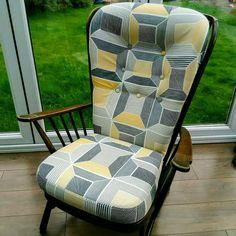 Ercol Evergreen chair cushions re-cover.
