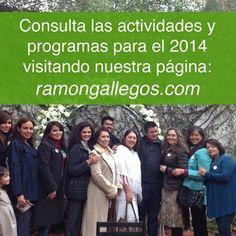 Ingresa a: www.ramongallegos.com