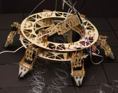 3ders.org - Geoweaver: A six-legged, walking 3D printer Hexapod   3D Printer News & 3D Printing News