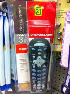 Dollarama Deal – RCA Universal Remote {DollarStoreHouse.com} #deals