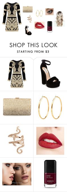 """idk"" by ktbspa-and-loveislove on Polyvore featuring moda, For Love & Lemons, Steve Madden, Neiman Marcus, Elise Dray, Jouer y Anastasia Beverly Hills"