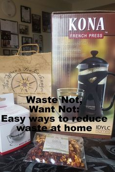 Waste Not, Want Not: Easy ways to reduce waste at home!