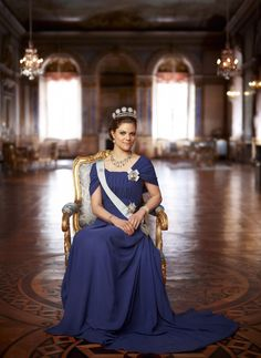 H.R.H. Crown Princess Victoria of Sweden, Duchess of Vastergotland