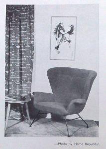 Fler shell chair