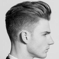 mens blonde short back and sides haircut for men