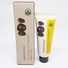 Innisfree Jeju Volcanic 3 in 1 (Pack + Scrub + Cleanser) Nose Pack 40ml GKCPIN53 #Innisfree